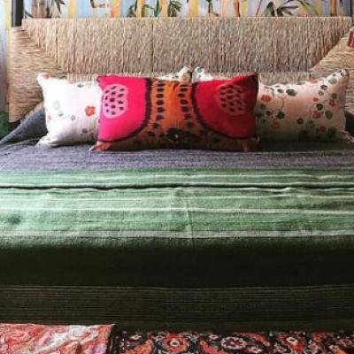 stoffa - Bringing Earthy Green Indoors